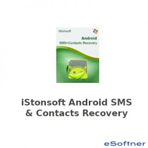 iStonsoft Android SMS and Contacts Recovery Logo