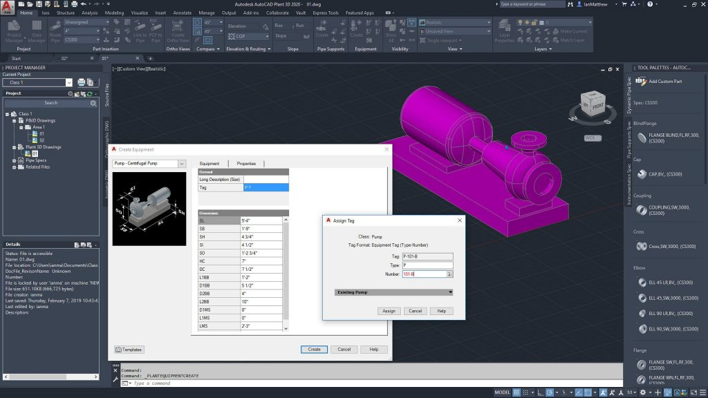 Autodesk AutoCAD Plant 3D Free Download