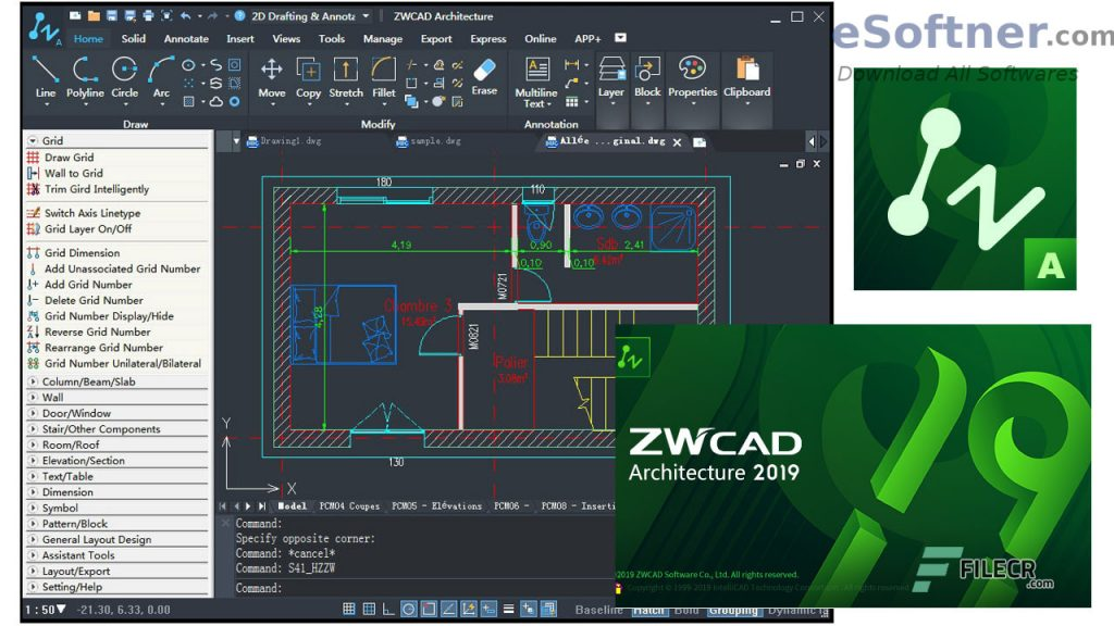 ZWCAD Architecture Free Download