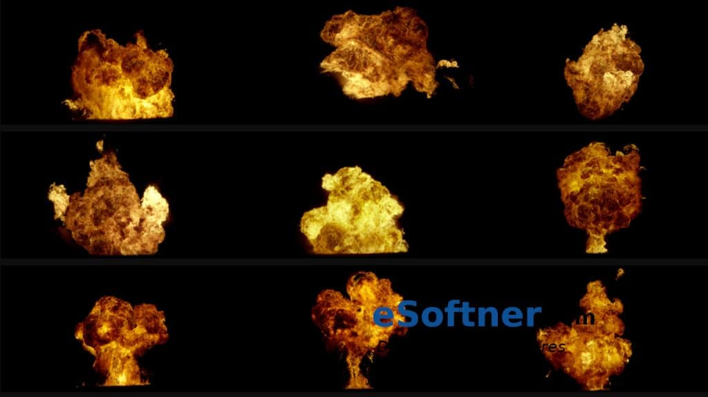Combust 4K Fire Explosions Free Download