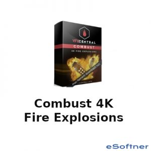 Combust 4K Fire Explosions Logo