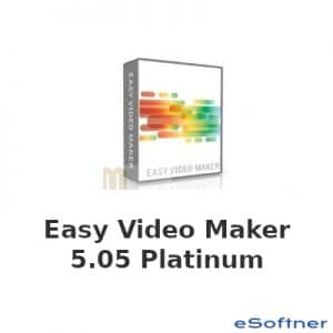 Easy Video Maker 5.05 Platinum Edition Logo