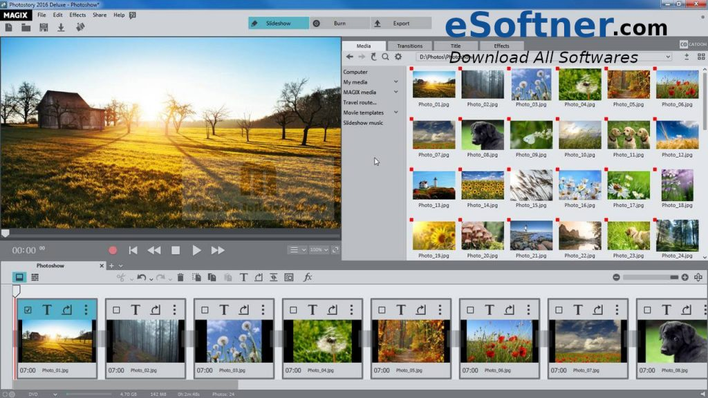 MAGIX Photostory Download