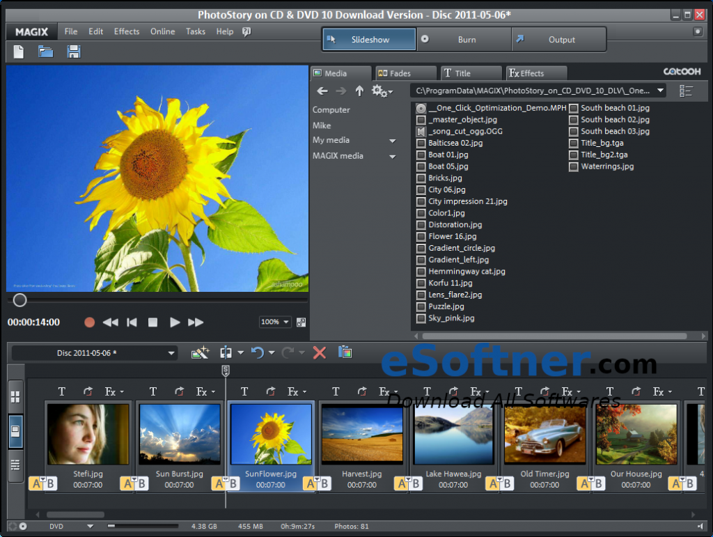 MAGIX Photostory Free Download