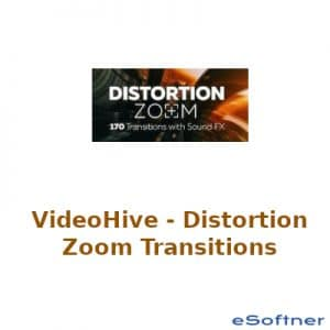 VideoHive – Distortion Zoom Transitions Logo