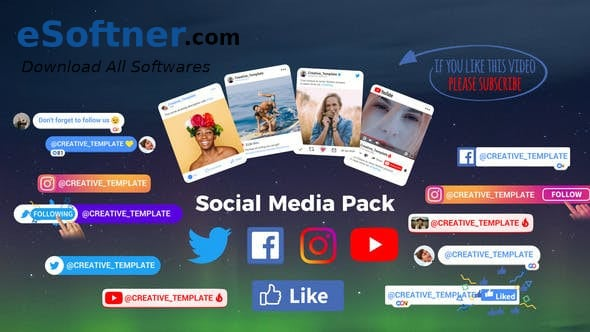 VideoHive – Social Media Pack Free Download