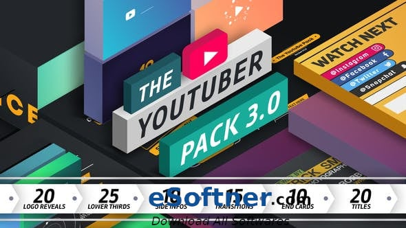 VideoHive – The YouTuber Pack Free Download