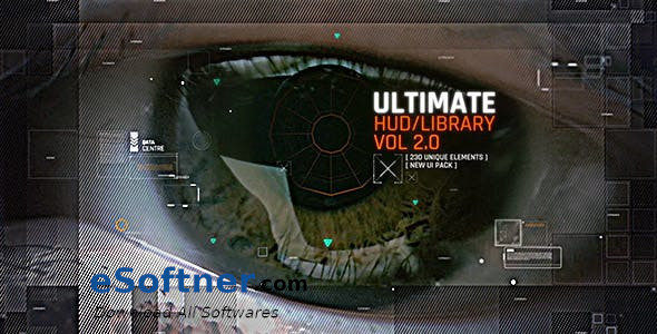 VideoHive – Ultimate HUD Library vol. 2 Free download