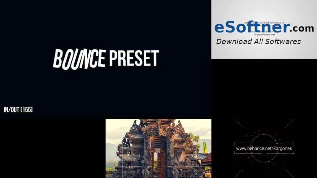 VideoHive – Ultimatum Bounce Presets Free Download