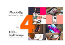 VideoHive – iMock-Up Real Footage Vol 4 Toolkit