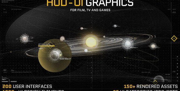 VideoHive HUD - UI Graphics for FILM, TV and GAMES Download