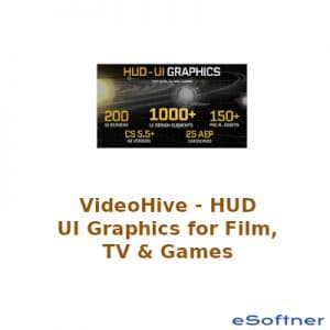 VideoHive HUD - UI Graphics for FILM, TV and GAMES Logo