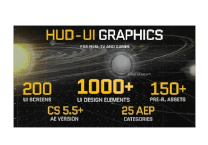 VideoHive HUD - UI Graphics for FILM, TV and GAMES
