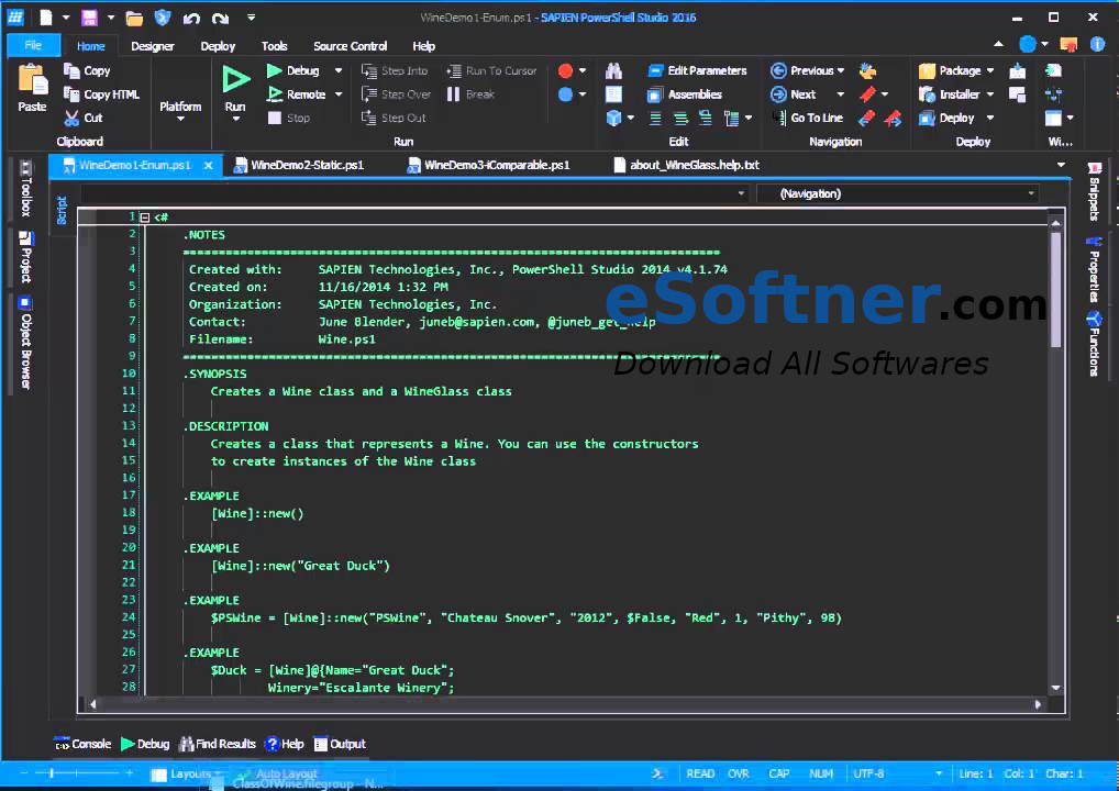 PowerShell Studio Free Download