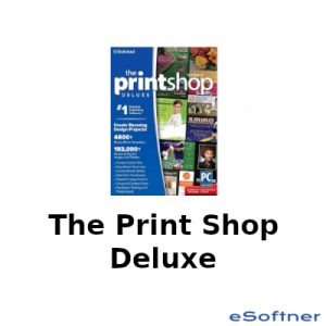 The Print Shop Deluxe Logo