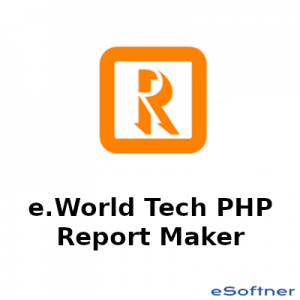 e.World Tech PHP Report Maker Logo