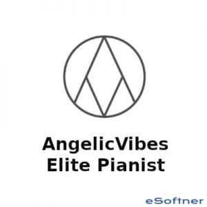 AngelicVibes Elite Pianist Logo