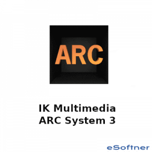 IK Multimedia ARC System 3 Logo