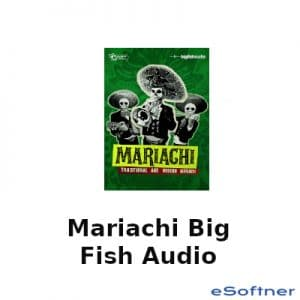 Mariachi Big Fish Audio Logo