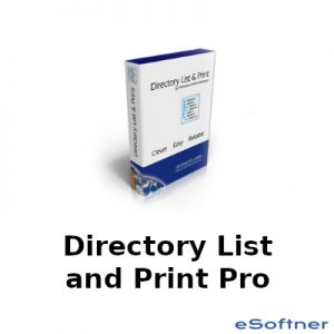 Directory List and Print Pro Logo