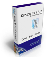 Directory List and Print Pro