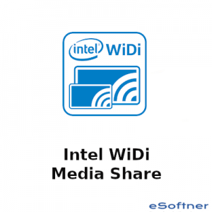Intel WiDi Media Share Logo
